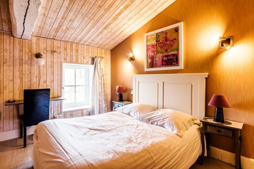 Chambre 4 double confort du domaine du prieuré