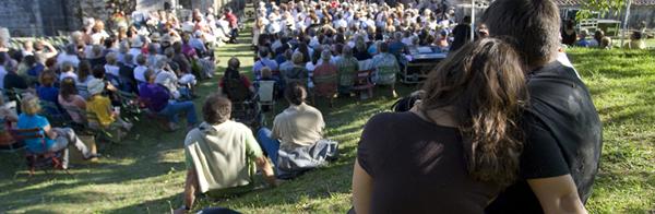 public du festival de Fontdouce