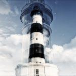 Œuvre photographique de Laurent Dequick le phare de chassiron