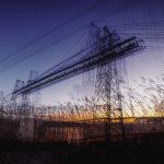 Œuvre photographique de Laurent Dequick le pont transbordeur de Rochefort
