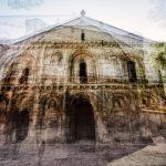Œuvre photographique de Laurent Dequick l'église de Surgères