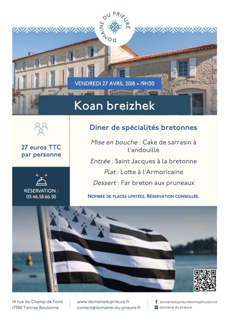 Soirée bretonne 2018