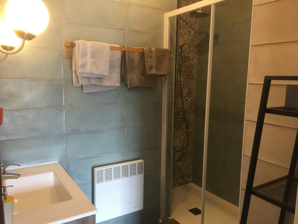 domaine du prieuré chambre 7 nouvelle salle de bain