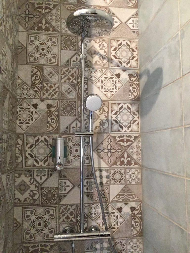 domaine du prieuré nouvelle douche